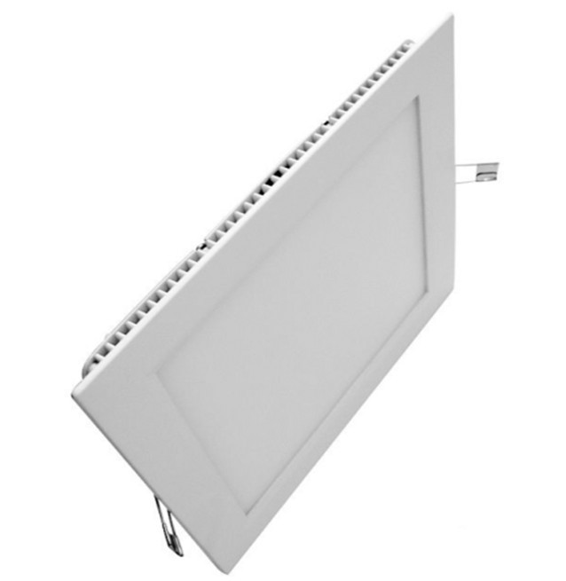 Panel LED cuadrado; Down Lighting, BLANCO FRÍO 18W
