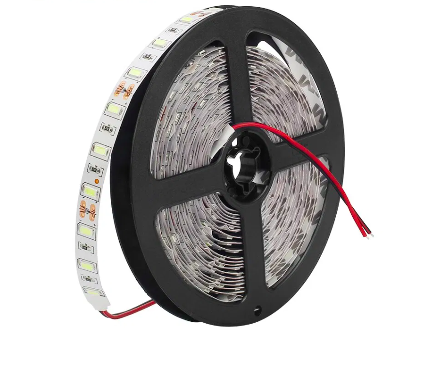 Tira flexible SMD5730, 5M, IP20, Blanco Puro